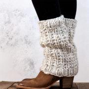 SILENCE - Women's Leg Warmer Knitting Pattern