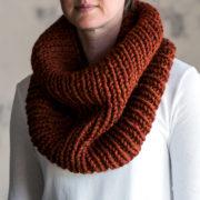 SIMPLICITY - Women's Cowl Knitting Pattern