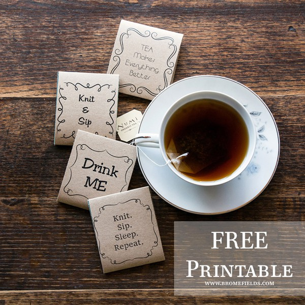 FREE Printable Tea Cozy
