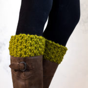 TO LEAD - Boot Cuff Knitting Pattern