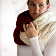 VISIONARY : Tube Scarf Knitting Pattern