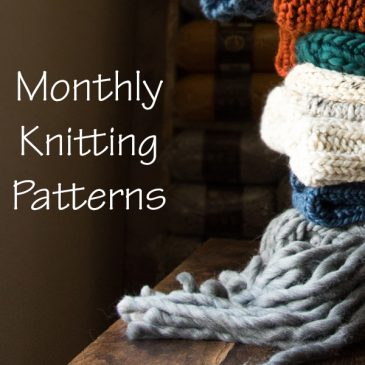 *NEW* Monthly Knitting Pattern Subscription
