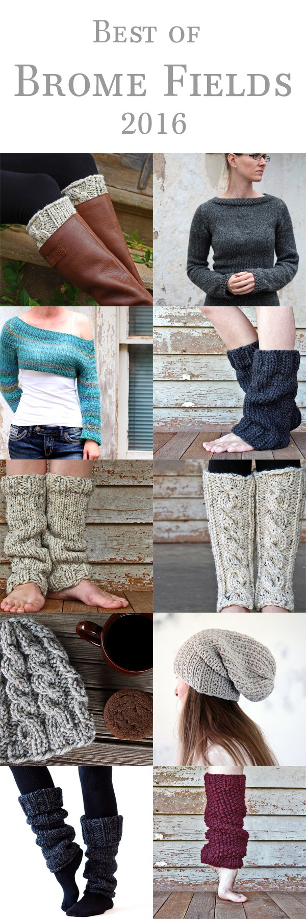 Best Knitting Patterns of 2016!