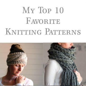 My Favorite Knitting Patterns
