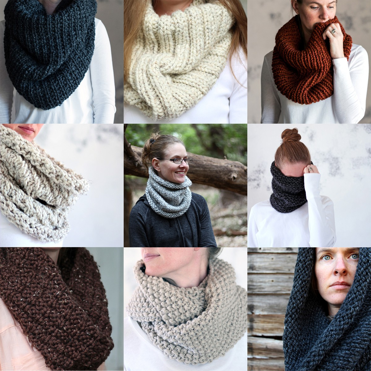 Top 10 Cowl Knitting Patterns by Brome Fields - Brome Fields