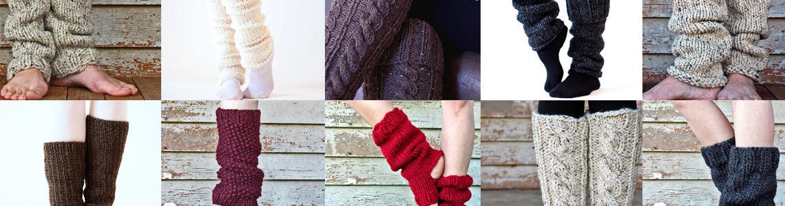 To 10 Leg Warmer Knitting Patterns eBook!
