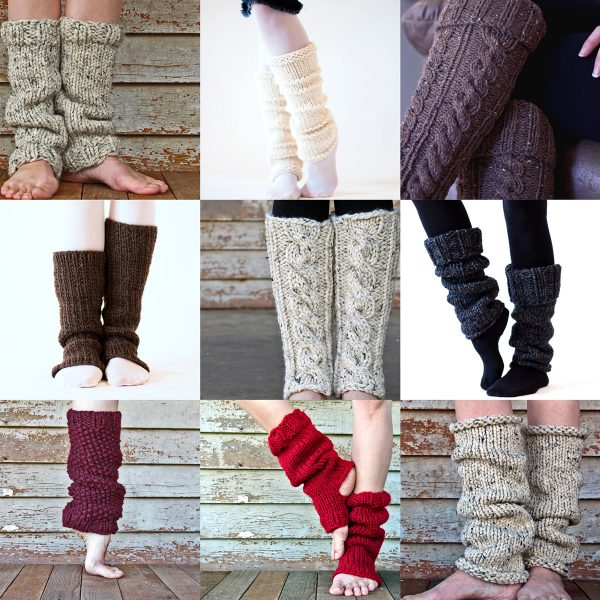 Top 10 Leg Warmer Knitting Patterns by Brome Fields