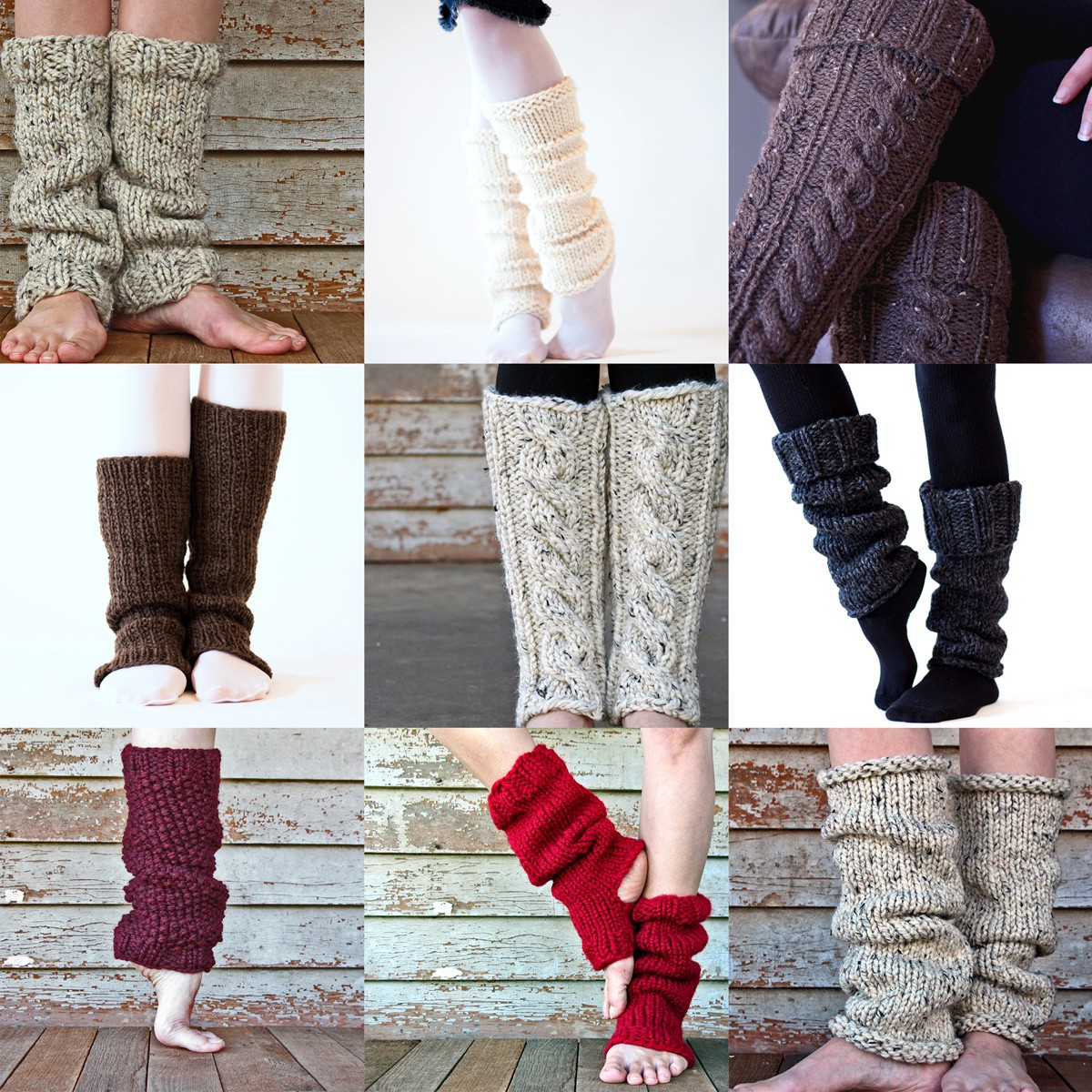 Top 10 Leg Warmer Knitting Patterns by Brome Fields - Brome Fields