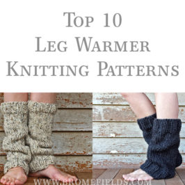 Top 10 Leg Warmer Knitting Patterns