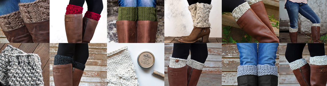 36 Boot Cuff Knitting Patterns for $36