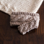 Baby Friendship Headband Knitting Pattern by Brome Fields
