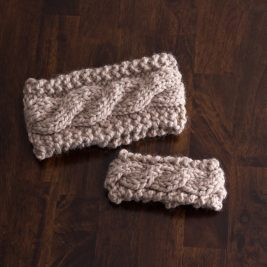 FRIENDSHIP : Mother Daughter Headband Knitting Patterns