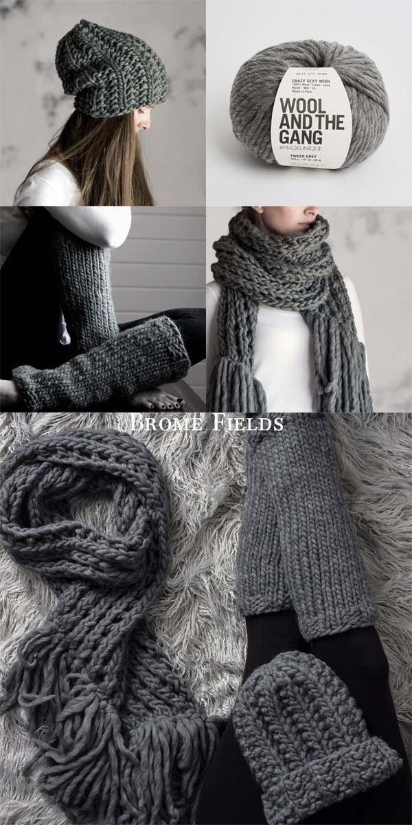 The Cozy Bundle Women S Scarf Hat And Leg Warmer