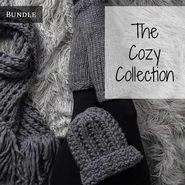 The Cozy Collection Knitting Pattern Bundle