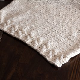 Grace Blanket Knitting Pattern