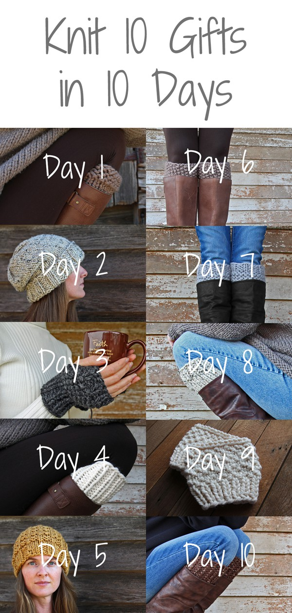 Knit 10 Gifts in 10 Days
