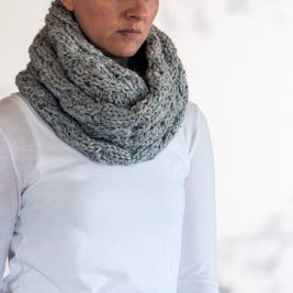MAJESTY : Cowl Knitting Pattern by Brome Fields