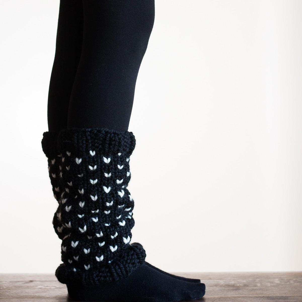 STEADFAST : Leg Warmer Knitting Pattern - Brome Fields