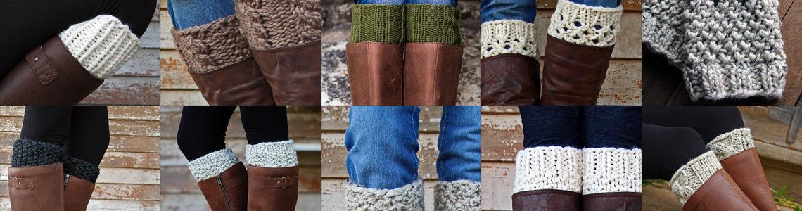 Top 10 Boot Cuff Knitting Patterns
