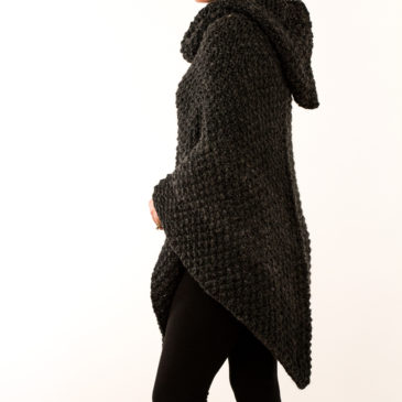 #203: Poncho Knitting Pattern
