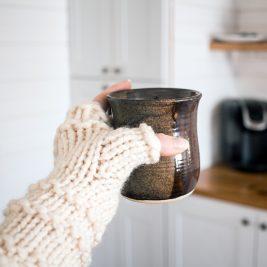WHOLEHEARTED - Fingerless Gloves Knitting Pattern