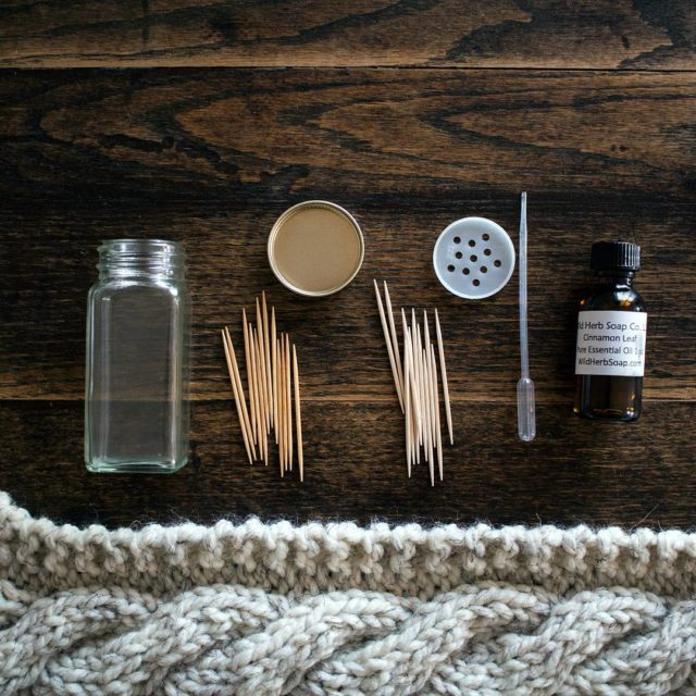 Toothpicks + cinnamon oil = ❤ . I wrote …