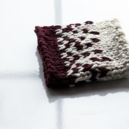 Fair Isle Boot Cuff Knitting Pattern : SPONTANEITY