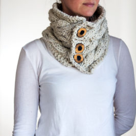 #208 : New Cowl Knitting Pattern : FRIENDSHIP