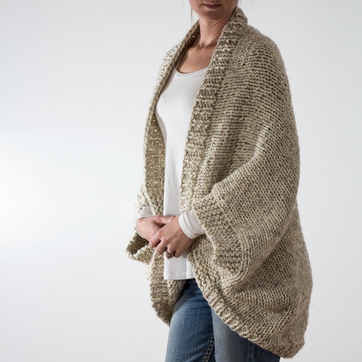 Oversized Jumper Knitting Pattern : DECISIVENESS: Oversized Scoop Sweater Knitting Pattern   Brome Fields