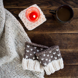 #207: NEW Boot Cuff Knitting Pattern PREPAREDNESS