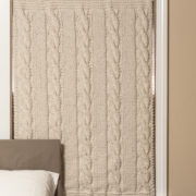 Insulated Knitted Quilted Curtain! Super insulated!