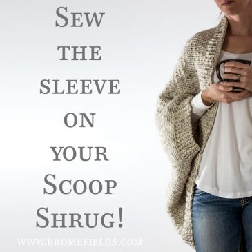 Video : Over-sized Shrug Sweater