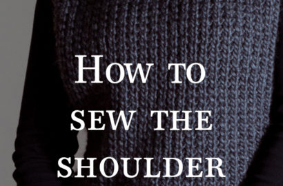 Video : How to Sew a K1, P1 Seam