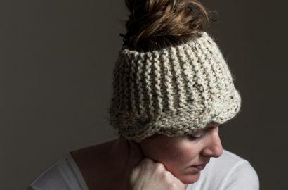 #214 New Knitting Pattern : Sensitivity Cable Knit Headband
