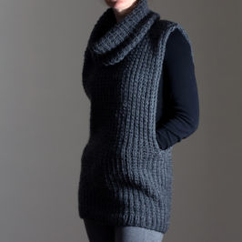 #213 New Knitting Pattern : Toughness Pullover Sweater