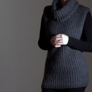 Pullover Sweater Knitting Pattern by Brome Fields