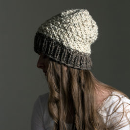 #215 New Knitting Pattern : Appreciation Slouchy Hat