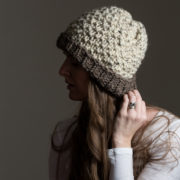 simple ribbed toque!