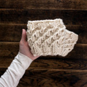 Magnanimity Boot Cuff Knitting Pattern