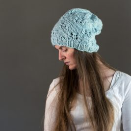 WITTY : Slouchy Hat Knitting Patern