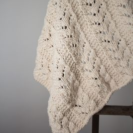 Caring blanket knitting pattern