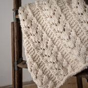 Caring blanket knitting pattern