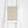knit blanket on a blanket ladder
