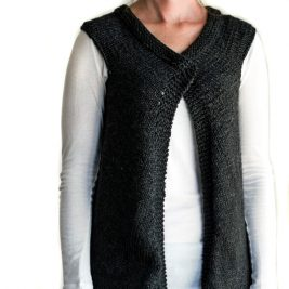 Super Easy Vest Knitting Pattern
