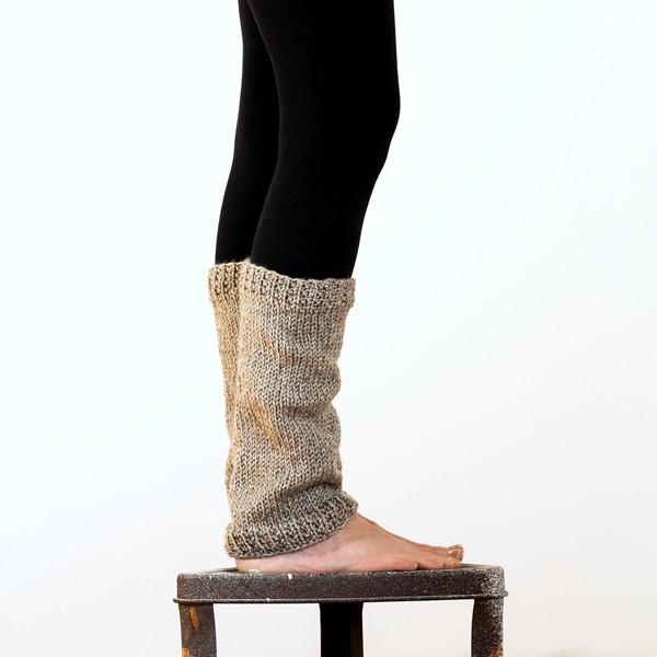 Perceptiveness Womens Leg Warmer Knitting Pattern Brome Fields