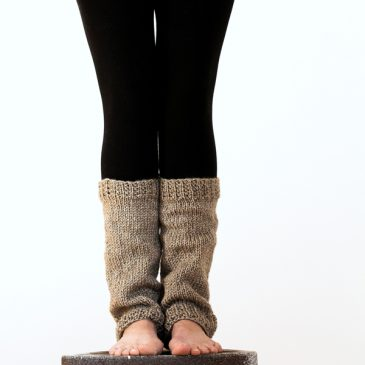 Super Easy & Cozy Leg Warmer Knitting Pattern Perceptiveness by Brome Fields