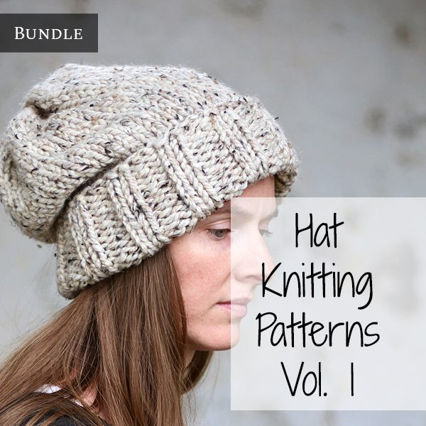 Hat Knitting Pattern Bundle Vol. 1