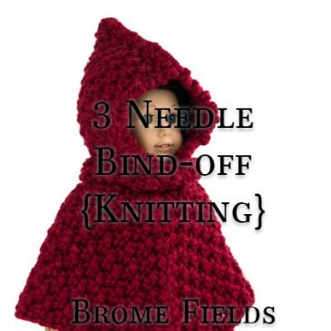 Video Tutorial: 3 Needle Bind-off when Knitting