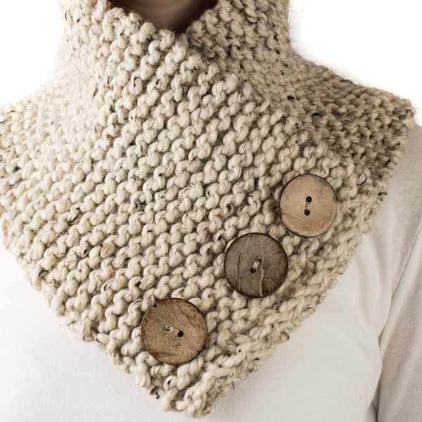 Free Trust Scarf Cowl Knitting Pattern Brome Fields