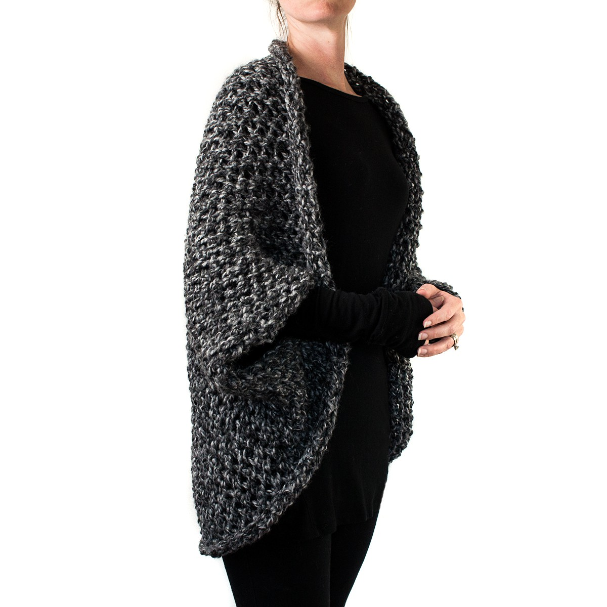RESOLVE : Cocoon Knitting Pattern - Brome Fields